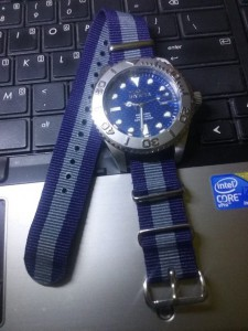 Invicta Pro Dover with Bond NATO strap