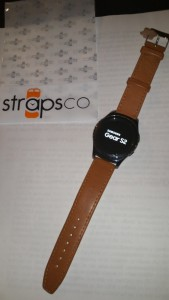 Tan Leather for my Girl's Samsung Gear S2 cassic