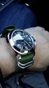 Army Green Nato Strap on Panerai