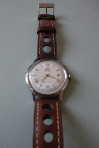 Orient Bambino V2, rose gold