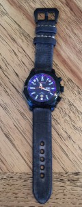 MTM Special Ops Vulture on vintage StrapsCo black band