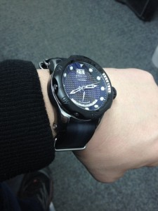 Black NATO strap on Invicta Venom Reserve