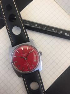Vintage Tissot Seastar with Rally Strap