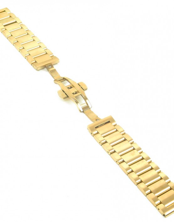 bm2.yg quick reglese Yellow Gold Watch Strap with Quick Release
