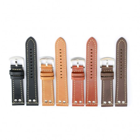 All Color 381 Leather Strap with Rivets