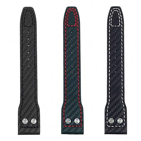 All Color DASSARI Mirage iw6 Carbon Fiber Strap w Rivets