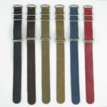 All Color nt5 5 Ring Leather NATO Strap