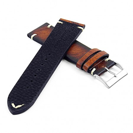 DASSARI Kingwood ds5.9 Premium Vintage Italian Leather Strap in Rust