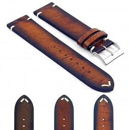Gallery DASSARI Kingwood ds5 Premium Vintage Italian Leather Strap