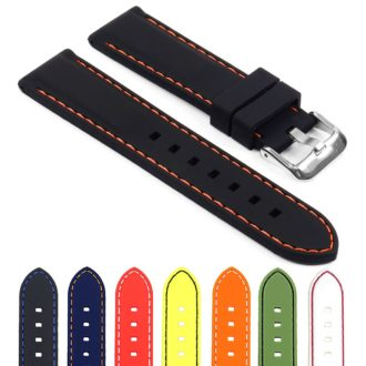 7a1cf00cd07 Rubber Strap with Stitching – Quick Release
