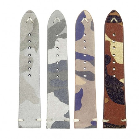 all color st16Suede Camo Watch Strap