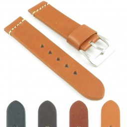 392.3 Thick Leather Strap with Large Keeper in Tan