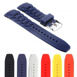gallery Rubber Oyster Strap with Curved Ends