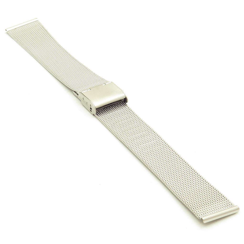 m6.ss Thin Mesh Strap in Stainless Steel