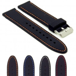 Gallery sbr22 Textured Rubber Strap