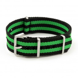 NT2.NL.1.11 NATO Strap in Black Green