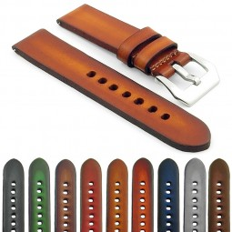 st79 Gallery Faded Thick Vintage Leather Watch Strap