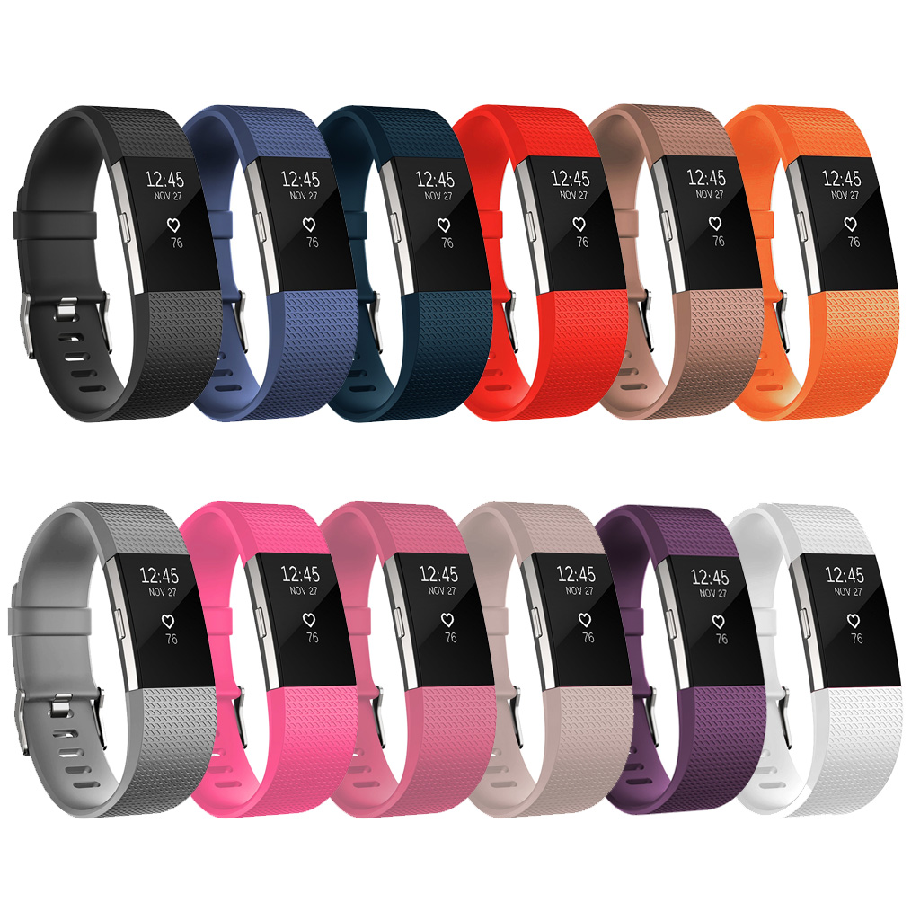 Silicone Strap for Fitbit Charge 2