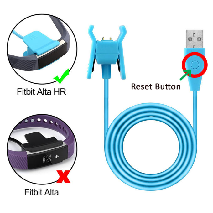 Charger Clip with Reset for Fitbit Alta HR | StrapsCo