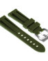 R.pn1.11 Silicone Rubber Strap In Green