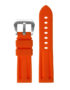 R.pn1.12 Silicone Rubber Strap In Orange 2