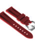 R.pn1.6 Silicone Rubber Strap In Red