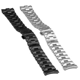 9d75388f722771 Heavy Duty Stainless Steel Watch Band with Hidden Clasp