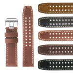 Vintage Leather Watch Strap For Luminox Evo