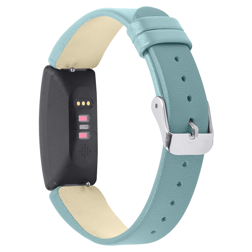 Smooth Leather Band For Fitbit Inspire Amp Inspire Hr Strapsco