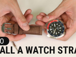 How To Install Watch Band Strap Header