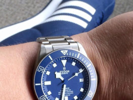 Watch Band Style Guide Tudor Pelagos Blue Color Matching