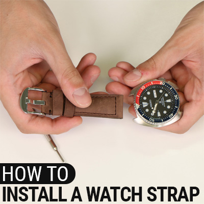 How To Install A Watch Strap