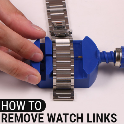 How To Remove Watch Links With Tool