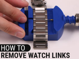How To Remove Watch Links With Tool Header