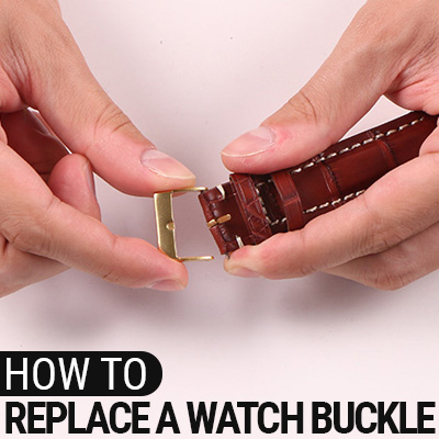 How To Replace A Watch Buckle