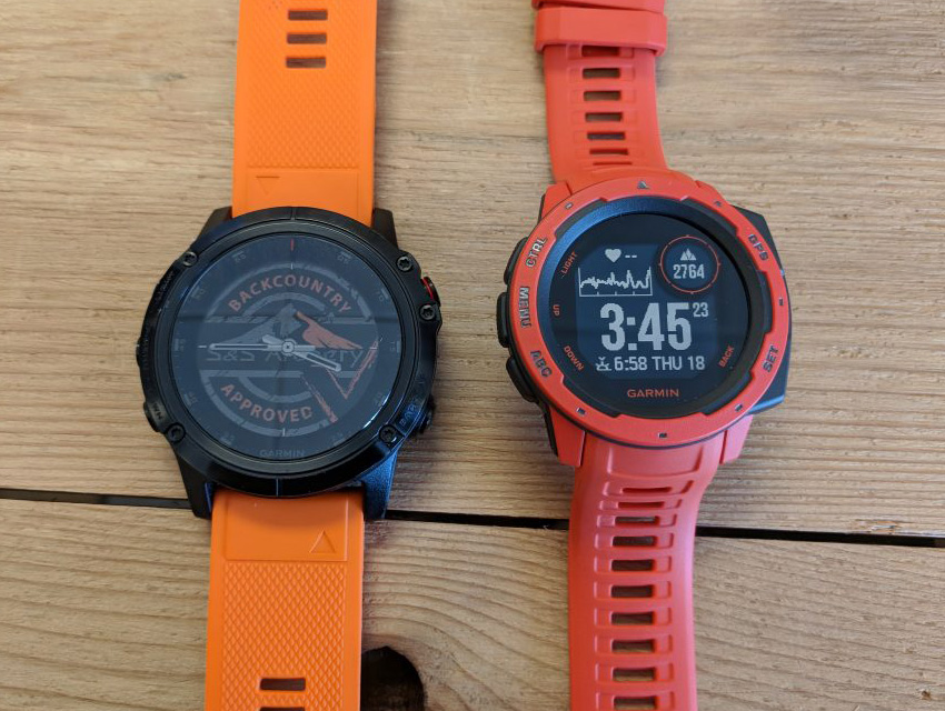 Garmin Instinct Vs Garmin Fenix 5 1