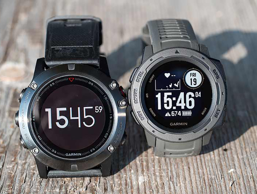 Garmin Instinct Vs Garmin Fenix 5 3