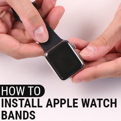 How To Install Apple Watch Bands