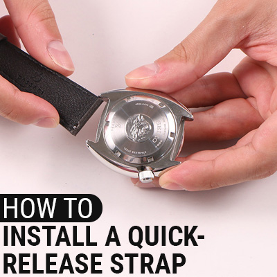 How To Install A Quick Release Strap