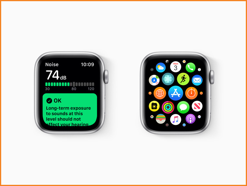 Apple Watch Series 5 Everything You Need To Know Watchos 6 App Store Noise Meter