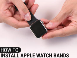 How To Install Apple Watch Bands Header