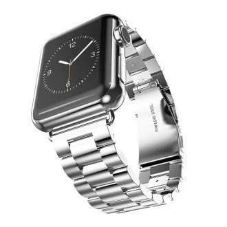 Silver Apple Watch Bands