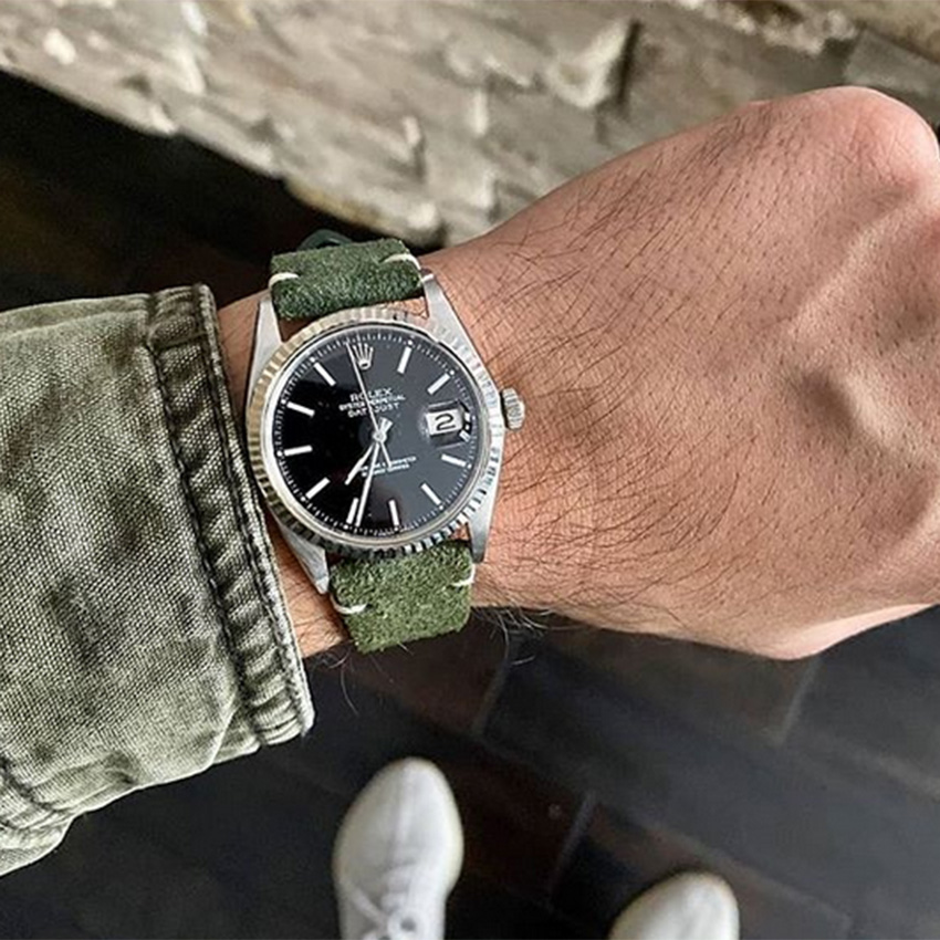 Latest Watch Strap Trends For The New Year Suede Watch Straps