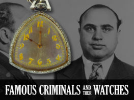 Famous Criminals And Their Watches Header