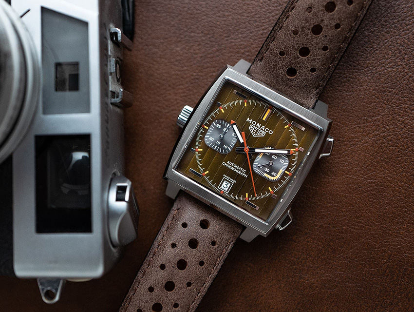 Top Five Iconic Chronographs Tag Heuer Monaco 1969