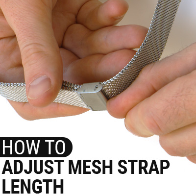 How To Adjust Mesh Strap Length