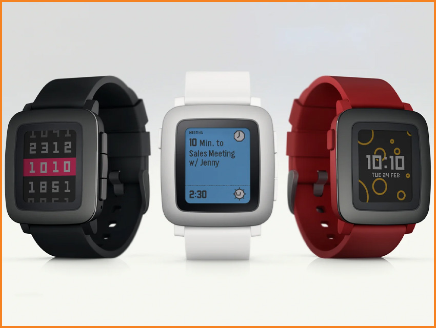 Top 8 Most Funded Watch Kickstarter Campaigns Pebble Time
