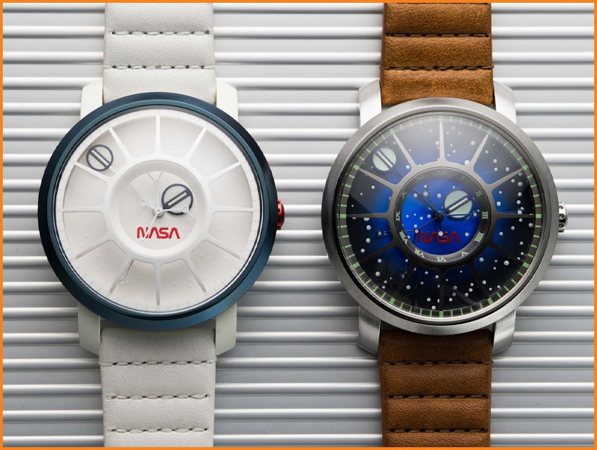 Top 8 Most Funded Watch Kickstarter Campaigns Xeric Nasa Trappist 1 Apollo 11 50th Anniversary
