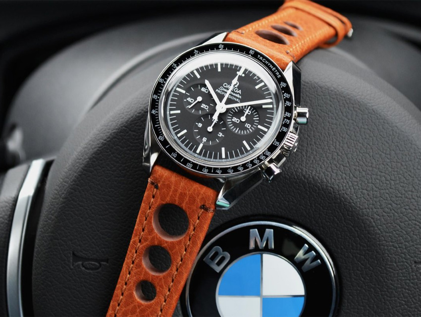 Watch Band Style Guide Omega Speedmaster Chronograph Rally