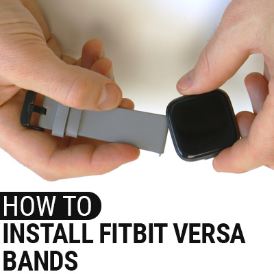 How To Install Fitbit Versa Bands